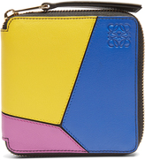 Loewe Puzzle zip-around small leather wallet