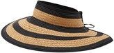 Vince Camuto Striped Roll-up Visor