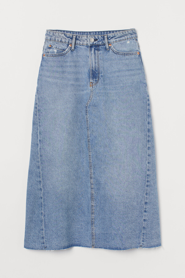 Thumbnail for your product : H&M A-line denim skirt