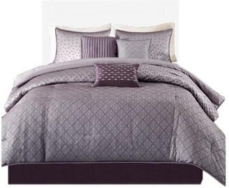 Madison Home USA Jacquard 7-Piece Comforter Set, King