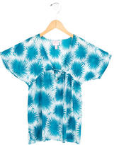 Milly Minis Girls' Short Sleeve Printed Top