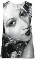 Kenzo classic print tank top - women - Silk - 40