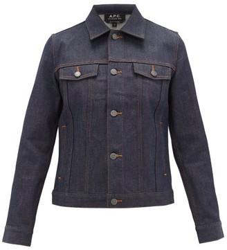 A.P.C. Brandy Denim Jacket - Womens - Indigo