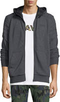 G Star G-Star Odiron Suzaki Quilted Zip-Front Hoodie