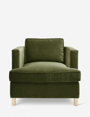 Lulu & Georgia Belmont Accent Chair, Jade By Ginny Macdonald