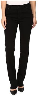 Liverpool Sadie Straight in Black Rinse (Black Rinse) Women's Jeans