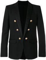 Balmain embellished button blazer - men - Cotton - 52