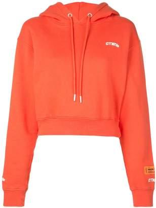 Heron Preston Fire Crop hoodie