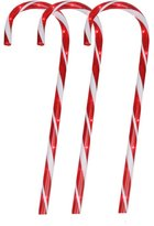 Northlight Seasonal 6 Lighted Twinkling Outdoor Candy Cane Christmas Lawn Stakes Pathway Markers