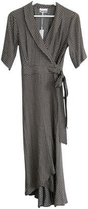 Ganni Spring Summer 2020 Black Viscose Dresses