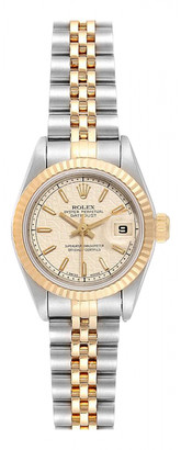 Rolex Lady DateJust 26mm Gold gold and steel Watches