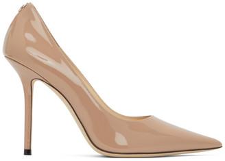 Jimmy Choo Pink Patent Love 100 Heels