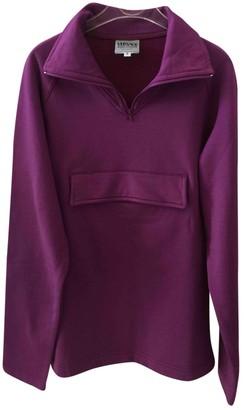 Versace Purple Cotton Knitwear for Women