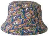 Pretty Green Reversible Paisley Print Bucket Hat