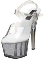 Pleaser USA Women's Adore 708G Ankle-Strap Platform Sandal