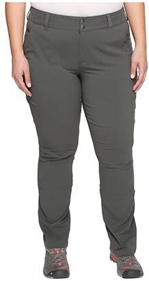 Columbia Plus Size Saturday Trail Pants (Black) Women's Casual Pants