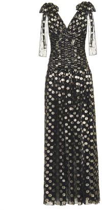 Dolce & Gabbana Fil coupA silk-blend gown