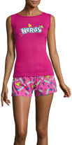 Asstd National Brand Tank and Short Pajama Set