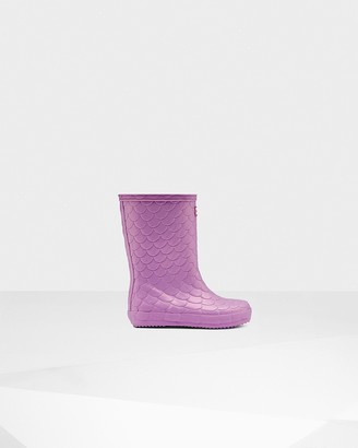 Dragon Optical Original Kids First Sea Texture Rain Boots