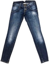 Cycle Blue Cotton Jeans for Women