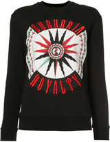 Fausto Puglisi Suburbia Royalty sweatshirt - women - Cotton - 40
