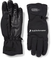 Peak Performance - Chute Leather-panelled Hipe® Core+ Gloves