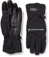 Peak Performance - Chute Leather-panelled Hipe Core+ Ski Gloves