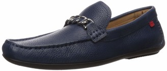 Marc Joseph New York Men's Made in Brazil Leather/Chain Driving Loafer