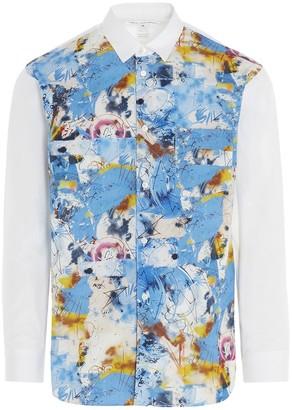 Comme des Garçons Shirt X Futura Panelled Shirt