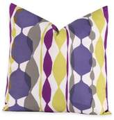 Crayola Bejeweled 18-Inch Square Throw Pillow in Purple