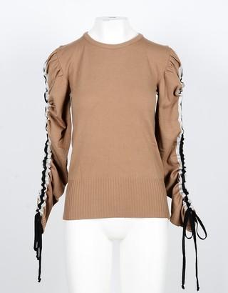 Annarita N. Brown Viscose Bland Women's Sweater