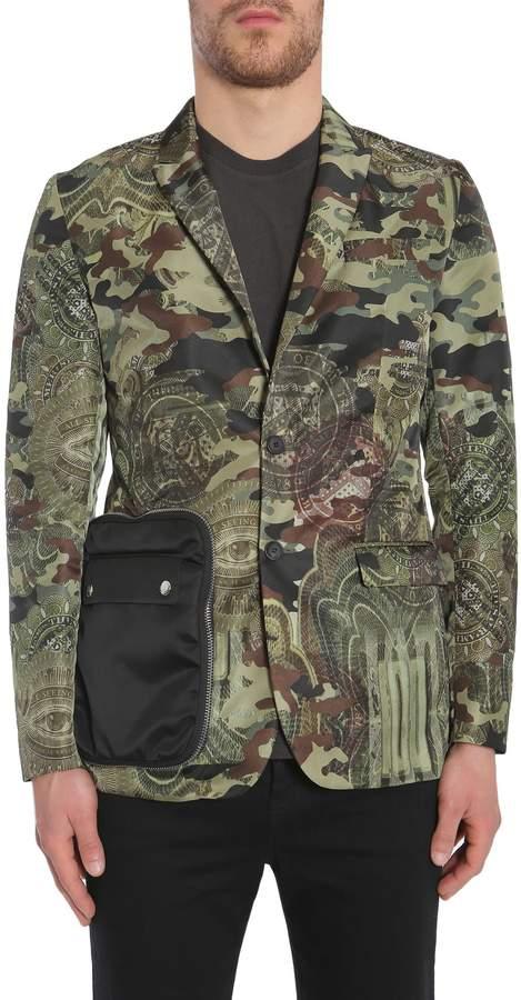 Givenchy Camo Dollar Print Jacket