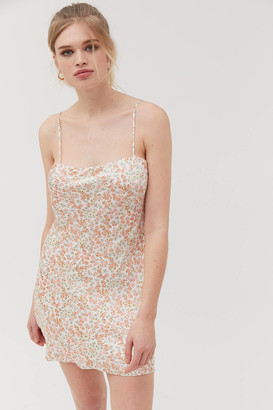 Dress Forum Ditsy Floral Mini Slip Dress
