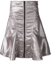 Kokon To Zai metallic flared skirt