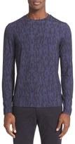Armani Collezioni Men's Jacquard Sweater