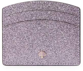 Kate Spade Burgess Court Glitter Leather Cardholder