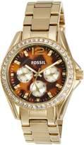 Fossil Women's Riley ES3364 Stainless-Steel Quartz Watch