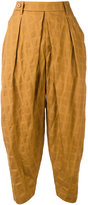 Issey Miyake harem trousers - women - Cotton - 1