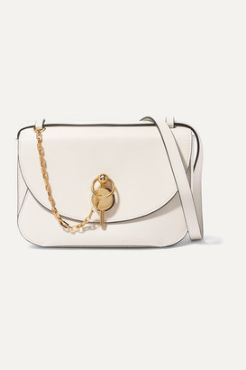 J.W.Anderson Keyts Large Leather Shoulder Bag - Off-white