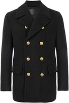 Dolce & Gabbana double breasted coat - men - Silk/Cotton/Cashmere/Virgin Wool - 48