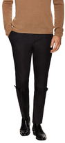 Alexander McQueen Solid Tab Flat Front Trousers