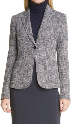HUGO BOSS Jasulia Tweed Blazer