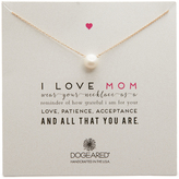 Dogeared I Love Mom Necklace