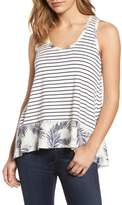 Caslon Mixed Print Tank (Regular & Petite)