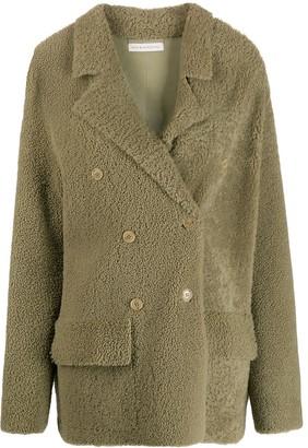 Inès & Marèchal Frou Frou shearling coat
