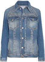 Frame Le Studded Denim Jacket - Light denim