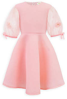 David Charles Little Girl's Puff-Sleeve Dress