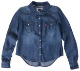 Levi's Toddler Button-Front Denim Shirt