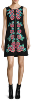 Nanette Lepore Sonata Floral Embroidered Shift Dress