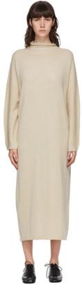 LAUREN MANOOGIAN Beige Oversize Rollneck Dress